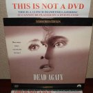 Laserdisc DEAD AGAIN 1991 Emma Thompson Lot#1 LTBX LD