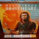 Laserdisc BRAVEHEART 1995 Mel Gibson Lot#4 LTBX THX Movie [LDLV33118-2WS]