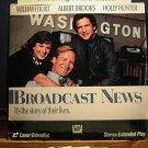 Laserdisc BROADCAST NEWS 1987 Lot#1 William Hurt FS LD