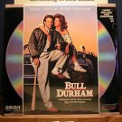 Laserdisc BULL DURHAM 1988 Kevin Costner Lot#1 FS SEALED UNOPENED LD