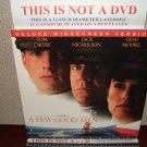 Laserdisc A FEW GOOD MEN 1993 Tom Cruise Lot#5 DLX LTBX LD Movie [27896]