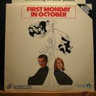 Laserdisc FIRST MONDAY IN OCTOBER 1981 Walter Matthau FS LD