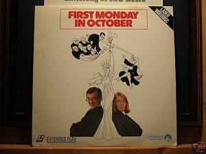 Laserdisc FIRST MONDAY IN OCTOBER 1981 Walter Matthau FS LD