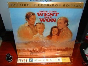 Laserdisc HOW THE WEST WAS WON (1963) Carroll Baker Lot#2 DLX LTBX SEALED UNOPENED Western LD