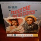 Laserdisc MEET ME IN ST LOUIS (1944) Judy Garland Lot#3 Gatefold Edition Classic LD