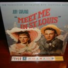 Laserdisc MEET ME IN ST LOUIS (1944) Judy Garland Lot#4 Gatefold Edition Classic LD