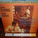 Laserdisc MISSISSIPPI MERMAID (1969) Catherine Deneuve French w/English Sub DLX LTBX Classic LD