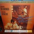 Laserdisc MISSISSIPPI MERMAID (1969) Catherine Deneuve French w/English Sub DLX LTBX Classic LD