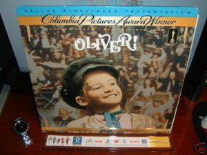 Laserdisc OLIVER! (1969) Ron Moody Lot#1 DLX LTBX Classic LD