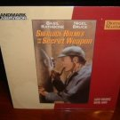 Laserdisc SHERLOCK HOLMES AND THE SECRET WEAPON (1943) Basil Rathbone Lot#2 UNOPENED Classic LD