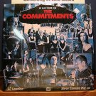 Laserdisc THE COMMITMENTS 1991 ROBERT ARKINS Lot#1 FS LD