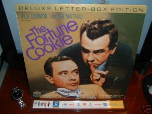 Laserdisc THE FORTUNE COOKIE (1966) Jack Lemmon DLX LTBX Classic LD