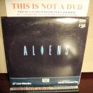 Laserdisc ALIENS 1986 Sigourney Weaver Lot#4 FS James Cameron Sci-Fi LD Movie [1504-80]