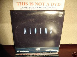 Laserdisc ALIENS 1986 Sigourney Weaver Lot#4 FS James Cameron Sci-Fi LD Movie [1504-80]