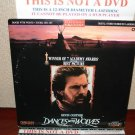 Laserdisc DANCES WITH THE WOLVES 1990 Kevin Costner Lot#10 LTBX LD