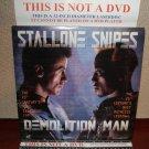 Laserdisc DEMOLITION MAN 1993 Wesley Snipes Lot#7 LTBX LD