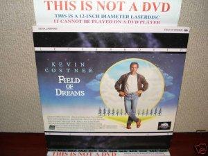 Laserdisc FIELD OF DREAMS 1989 Kevin Costner Lot#6 LTBX LD