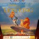 Laserdisc Disney THE LION KING 1994 Jeremy Irons Lot#1 LTBX THX AC-3 SEALED Walt LD [2977AS]