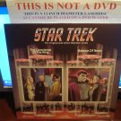 Laserdisc STAR TREK TOS EPISODES 13 & 9: THE CONSCIENCE OF A KING / BALANCE OF TERROR (1966) LD