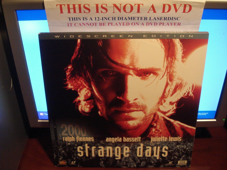 Laserdisc STRANGE DAYS 1995 Ralph Fiennes Lot#2 LTBX THX AC-3 LD