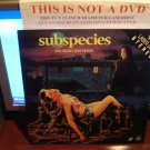 Laserdisc SUBSPECIES: THE NIGHT HAS FANGS 1991 Full Moon Entertainment FS Rare Horror LD
