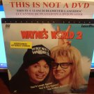 Laserdisc WAYNE'S WORLD 2 1993 Mike Myers Lot#3 LTBX SEALED UNOPENED LD