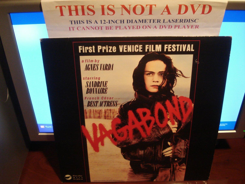 Laserdisc VAGABOND 1985 Sandrine Bonnaire French w/English Subtitles FS LD