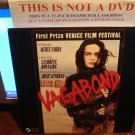 Laserdisc VAGABOND 1985 Sandrine Bonnaire French w/English Subtitles FS LD
