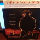 Laserdisc UNFORGIVEN 1992 Clint Eastwood Lot#3 LTBX LD
