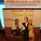 Laserdisc TRIAL AND ERROR 1997 Michael Richards Lot#2 LTBX SEALED UNOPENED LD