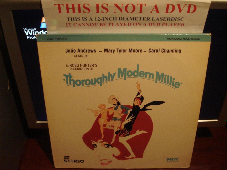 Laserdisc THOROUGHLY MODERN MILLIE (1967) Julie Andrews Lot#3 FS Classic Musicals LD