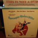 Laserdisc THOROUGHLY MODERN MILLIE (1967) Julie Andrews Lot#3 FS Classic Musicals LD