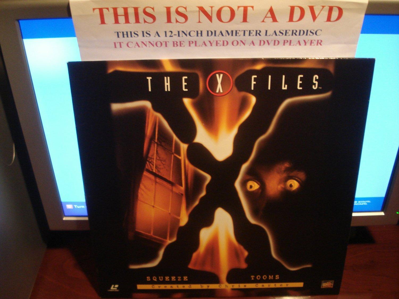 Laserdisc THE X FILES: SQUEEZE / TOOMS 1993/94 Gillian Anderson Lot#1 FS Sci-Fi LD