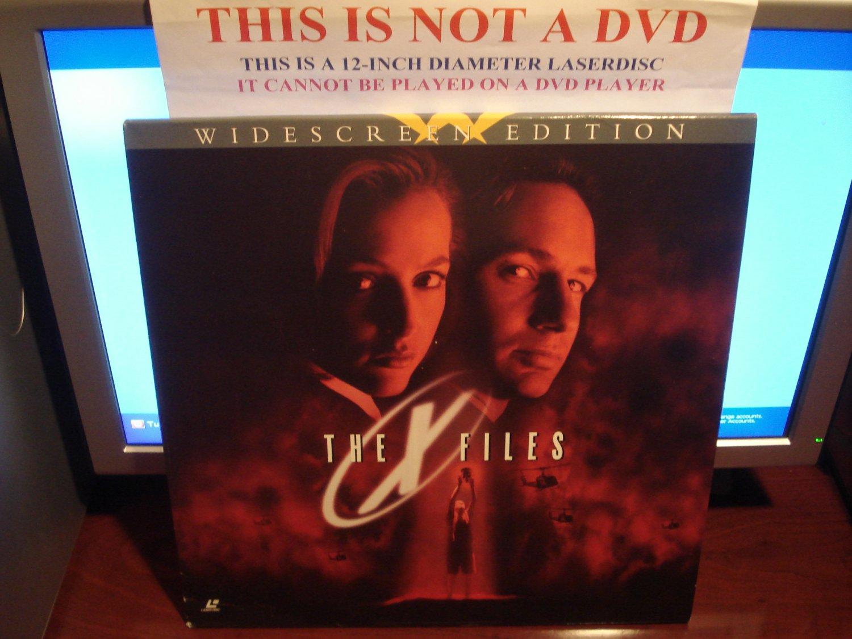 Laserdisc THE X FILES: THE MOVIE 1998 Gillian Anderson Lot#2 LTBX Sci-Fi LD