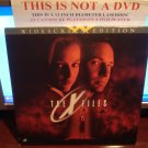 Laserdisc THE X FILES: THE MOVIE 1998 Gillian Anderson Lot#2 LTBX Sci-Fi LD