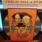 Laserdisc THE THREE STOOGES: VOLUME III 1982 Moe Howard FS LD