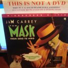 Laserdisc THE MASK 1994 Jim Carey Lot#2 LTBX THX LD