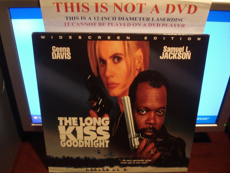 Laserdisc THE LONG KISS GOODNIGHT 1996 Geena Davis LTBX LD