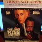 Laserdisc THE LONG KISS GOODNIGHT 1996 Geena Davis LTBX LD