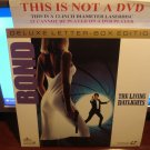 Laserdisc THE LIVING DAYLIGHTS 1987 Timothy Dalton James Bond 007 Lot#3 DLX LTBX LD