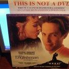 Laserdisc THE ENGLISHMAN 1995 Tara Fitzgerald Lot#1 LTBX LD