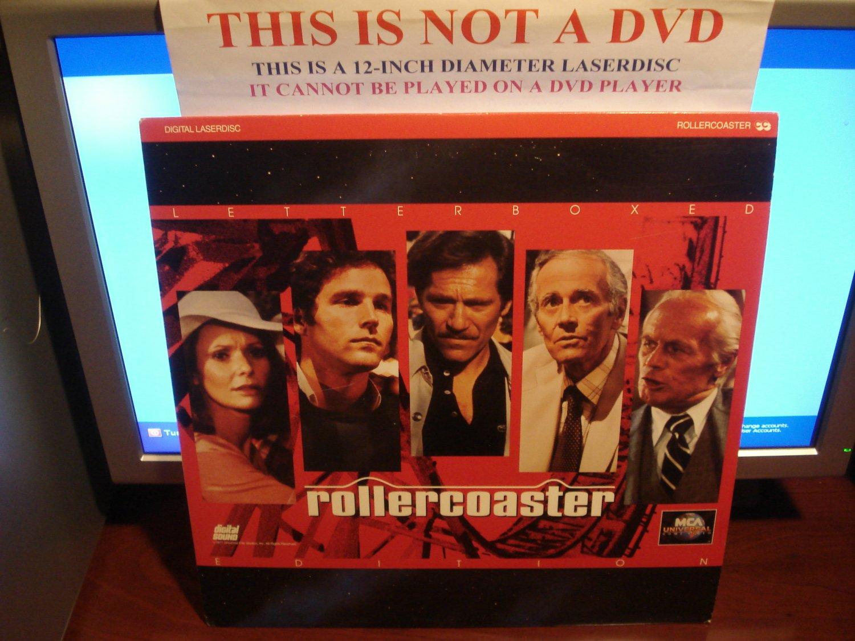 Laserdisc ROLLERCOASTER (1977) George Segal Lot#2 LTBX Classic LD