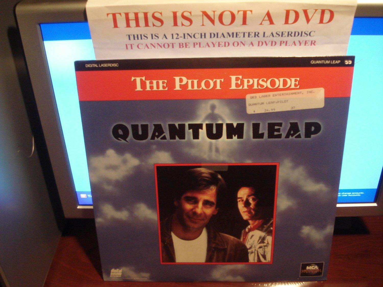 Laserdisc QUANTUM LEAP: THE PILOT EPISODE 1989 Scott Bakula Lot#2 FS SEALED UNOPENED Sci-Fi LD