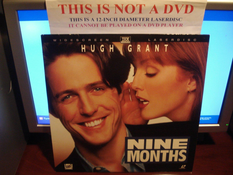 Laserdisc NINE MONTHS 1995 Hugh Grant Lot#4 LTBX THX LD