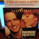 Laserdisc NINE MONTHS 1995 Hugh Grant Lot#4 LTBX THX LD