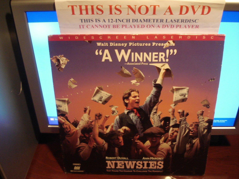 Laserdisc NEWSIES 1997 Robert Duvall Ann-Margret LTBX LD