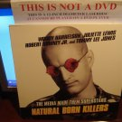 Laserdisc NATURAL BORN KILLERS 1994 Woody Harrelson Lot#3 LTBX LD