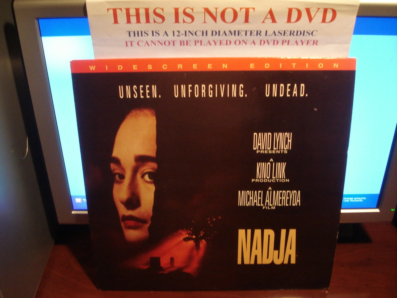 Laserdisc NADJA 1994 Suzy Amis LTBX Vampiristic Horror Vampire LD