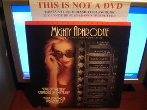 Laserdisc MIGHTY APHRODITE 1996 Mira Sorvino LTBX LD