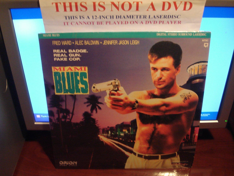 Laserdisc MIAMI BLUES 1990 Fred Ward Alec Baldwin FS LD